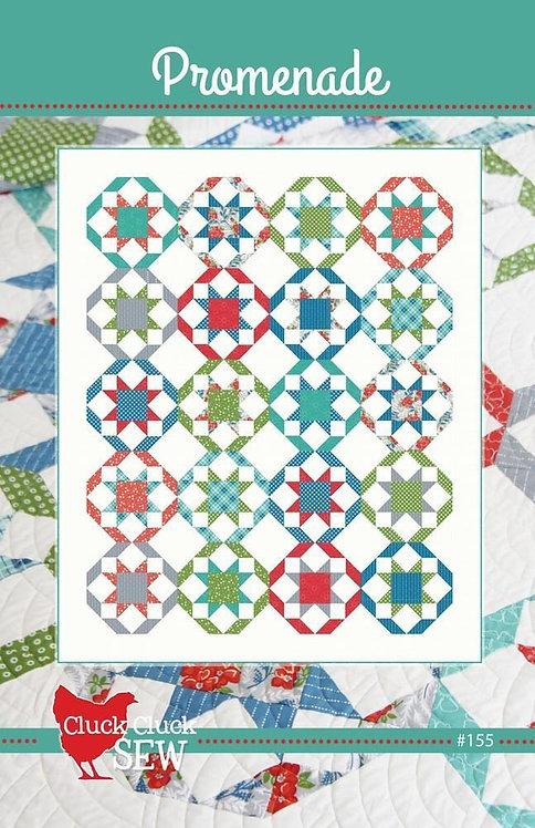 Cluck Cluck Sew PROMENADE Fat Quarter Pattern