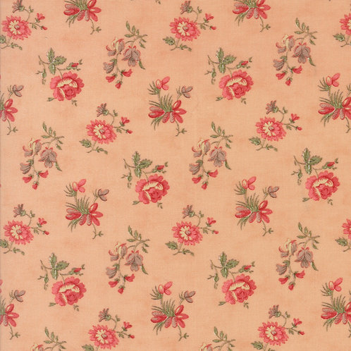 Courtyard 44124 16 Rose Floral Moda 3 Sisters
