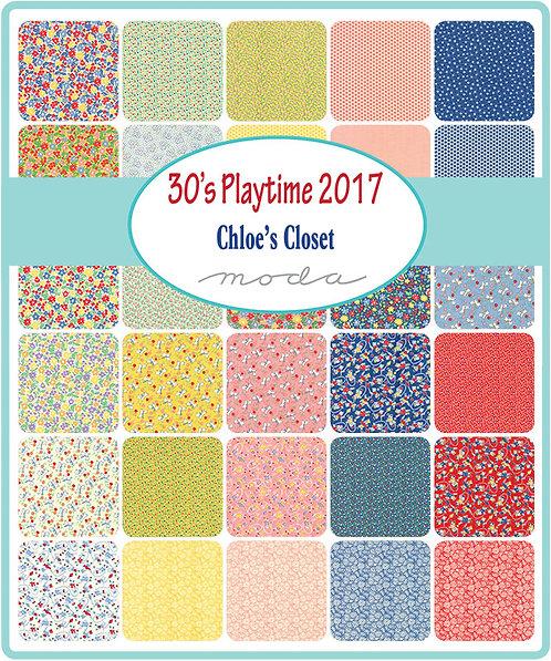 30's Playtime 2017 Moda Jelly Roll