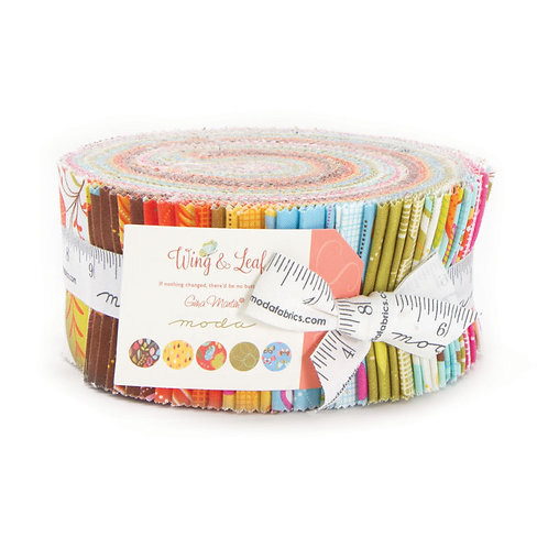 Wing & Leaf Moda Gina Martin Jelly Roll