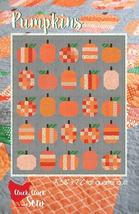 Cluck Cluck Sew PUMPKINS Jelly Roll Pattern