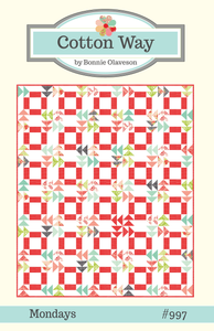 Cotton Way MONDAYS Fat Quarter Pattern