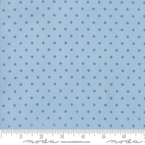Spring A Ling 21716 23 Baby Blue Dots Moda American Jane