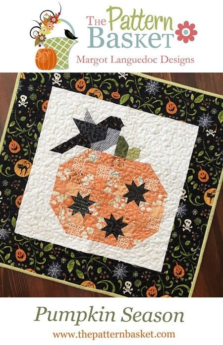 Pattern Basket PUMPKIN SEASON Charm Pattern