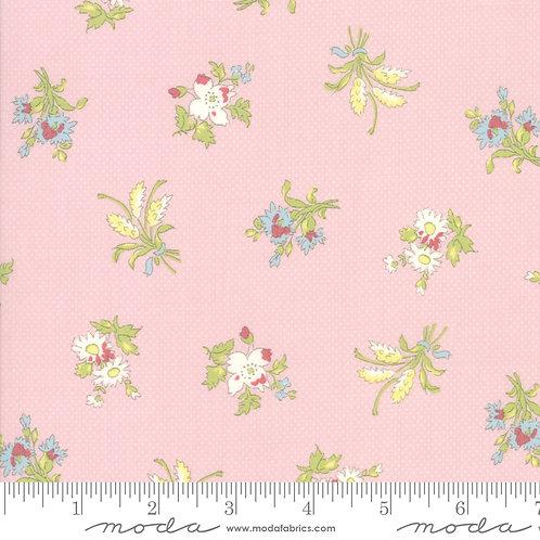 Bramble Cottage 18691 15 Pink Floral B Riddle Moda