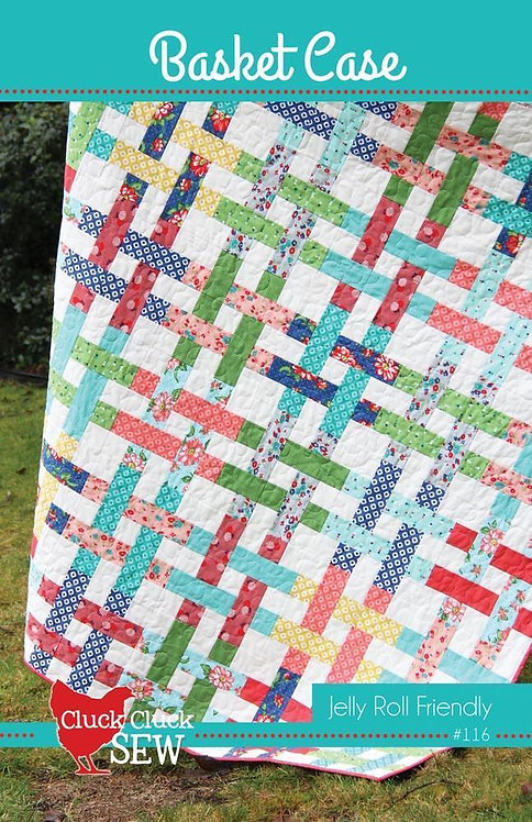 Cluck Cluck Sew BASKET CASE Jelly Roll Pattern