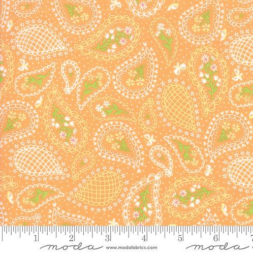 Sunday Picnic 20673 22 Orange Paisley Moda Stacy Iest Hsu