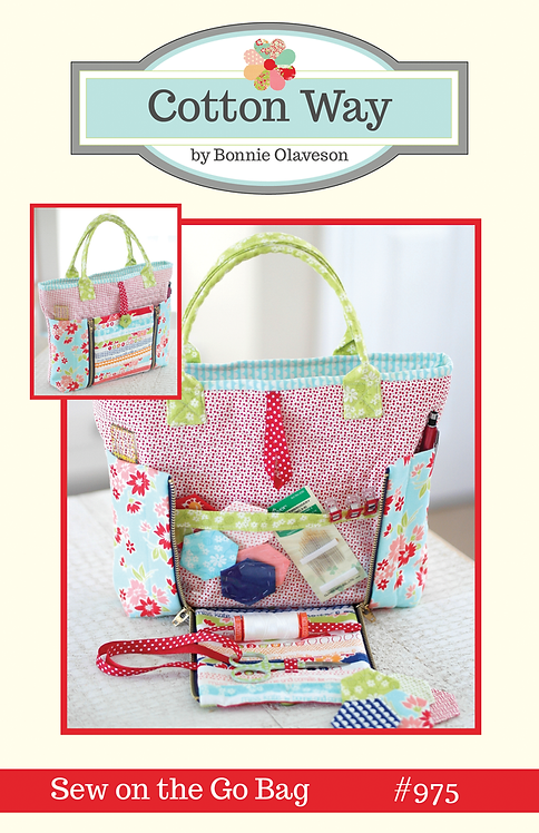 Cotton Way SEW ON THE GO BAG Pattern