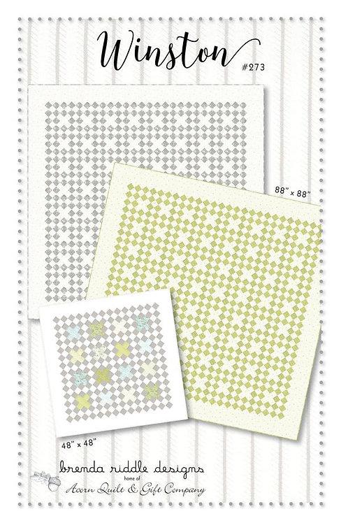Brenda Riddle WINSTON Quilt Pattern