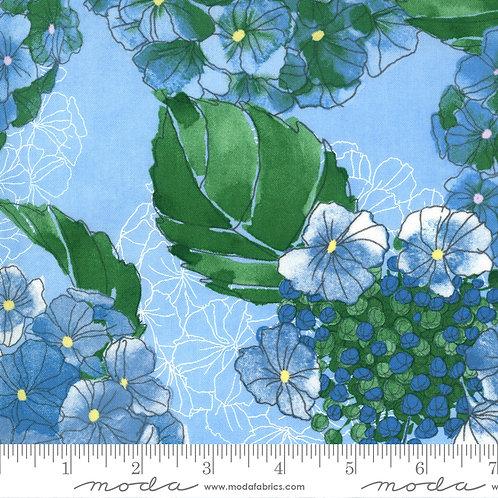 Cottage Bleu 48690 16 Mist Moda Robin Pickens