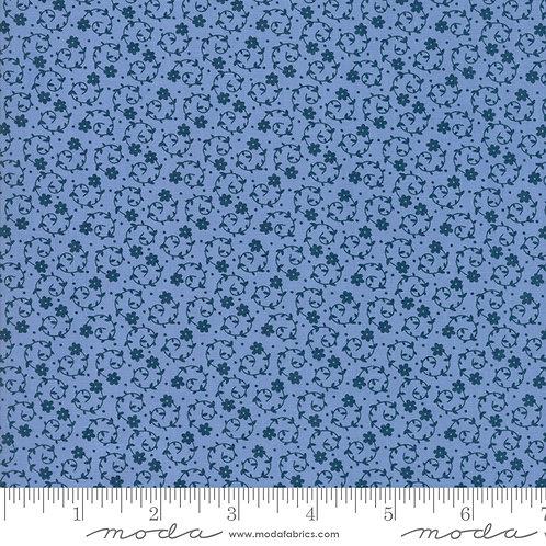 Oxford Prints 5711 13 Blue Floral Moda Sweetwater