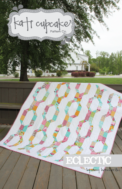 Kati Cupcake ECLECTIC Scrappy Quilt Pattern