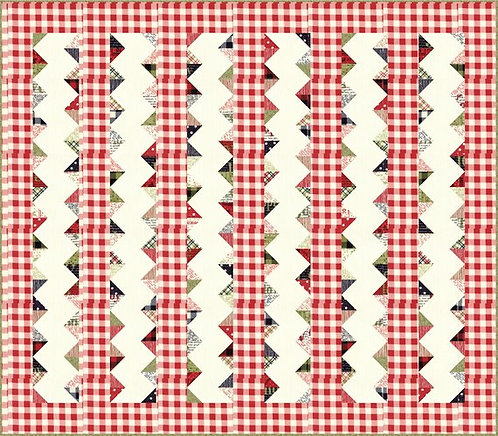 Sweetwater MAKE IT MERRY Charm Quilt Pattern