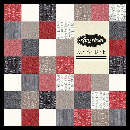 AMERICAN MADE Panel Quilt KIT Sweetwater