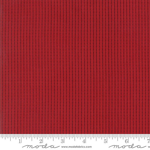 Madame Rouge 13777 11 Red Stripes Moda French General