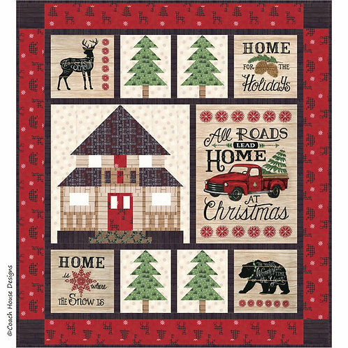Coach House HOME FOR CHRISTMAS Quilt Pattern
