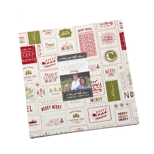 The Christmas Card Moda Sweetwater Layer Cake
