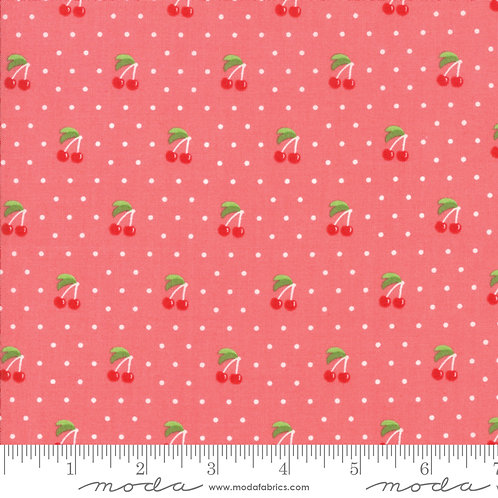 Orchard 24074 13 Pink Cherries Moda April Rosenthal