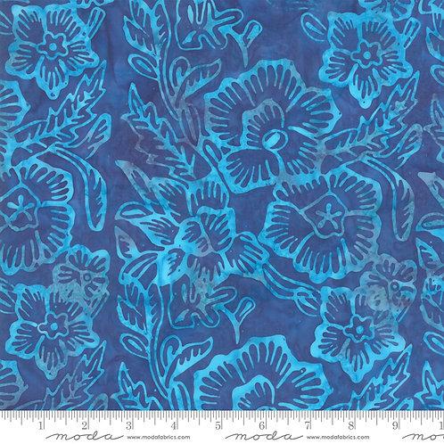 Aloha Batiks 4356 32 Blue Turquoise Moda