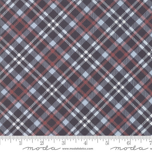 Branded 5786 12 Black Red Plaid Moda Sweetwater