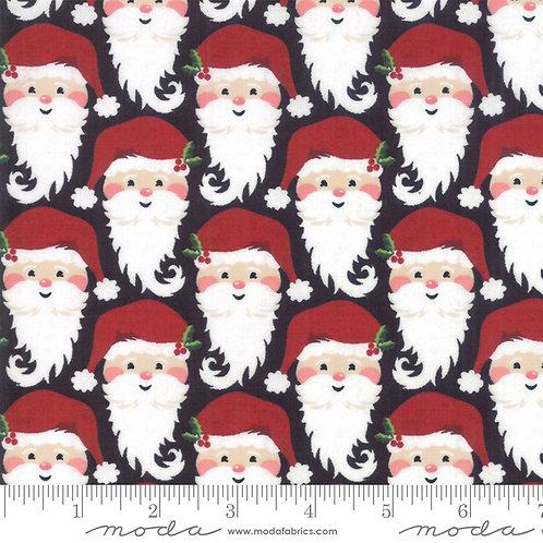 Kringle and Claus 30592 11 Black Santa Moda Basic Grey