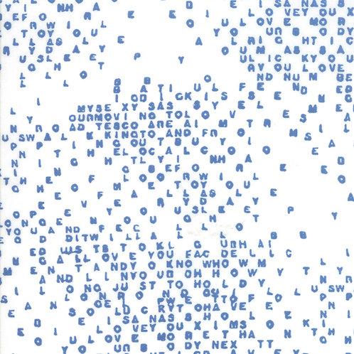 Breeze 1694 11 White Blue Letters Zen Chic
