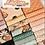 Thumbnail: KITTY CORN STARS Charm Panel Quilt KIT Urban Chicks