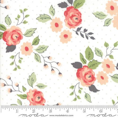 "Nest 5060 11 Pink Floral END OF BOLT ~ 29"" Moda Lella Boutique"