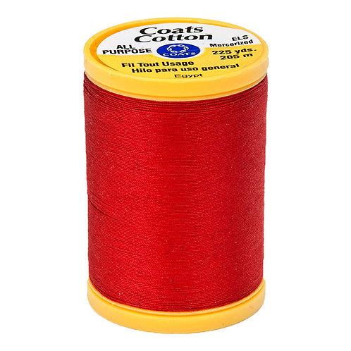 Coats & Clark Thread RED 3 spools 30wt