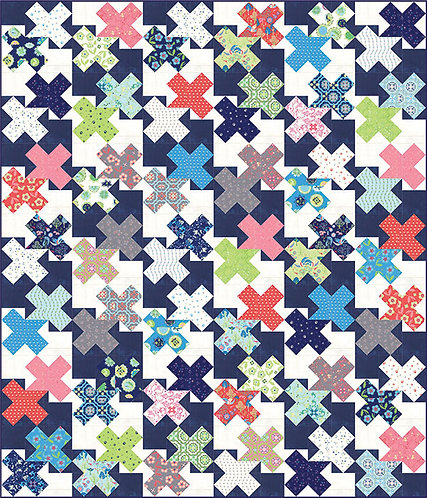 Franny & Jane DOUBLE CROSSED Layer Cake Pattern