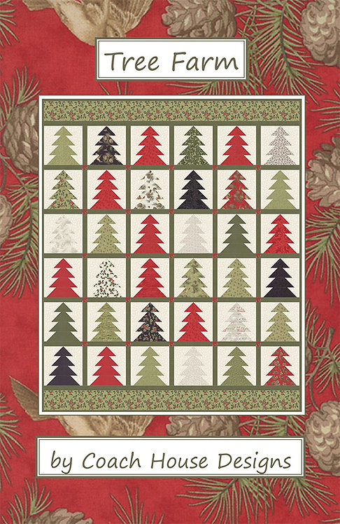 Coach House TREE FARM Jelly Roll Pattern