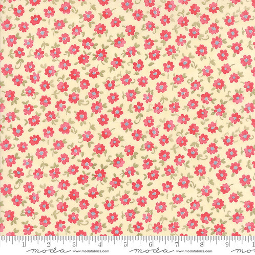 Nanette 33162 11 Ivory Pink Small Floral Moda Chez Moi