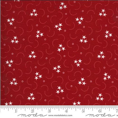 American Gathering 49128 13 Red Stars Moda Primitive Gath
