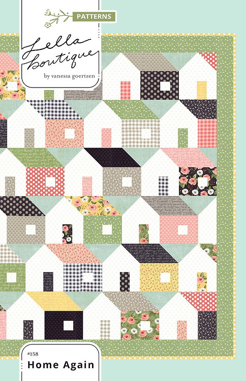 Lella Boutique HOME AGAIN Fat Eighth Pattern