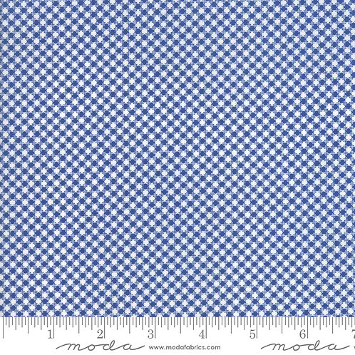 CATALINA 20375 12 Navy Blue Check Moda FIG TREE Floral