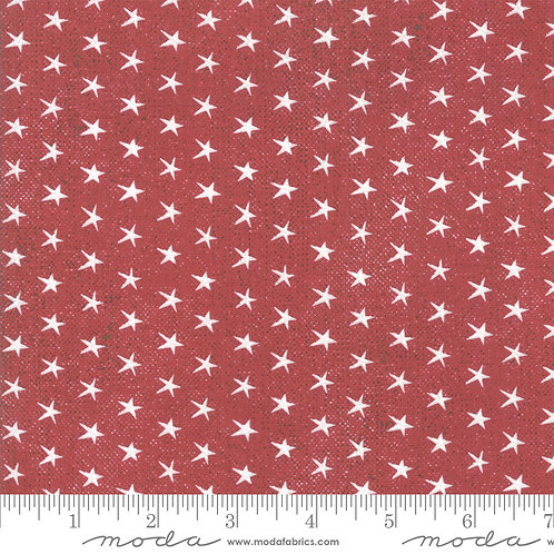 Branded 5781 11 Red Stars Moda Sweetwater