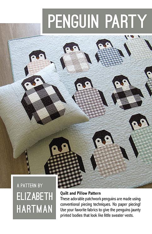 Elizabeth Hartman PENGUIN PARTY Quilt Pattern