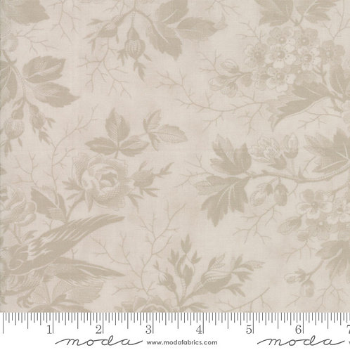 Quill 44151 31 Beige Floral Tonal Moda 3 Sisters