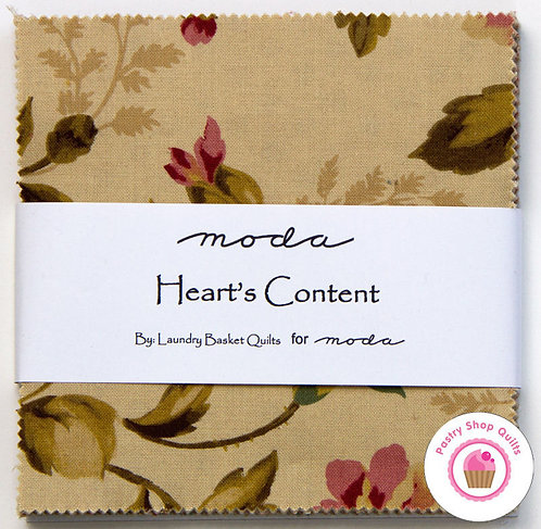 Heart's Content Moda Charm Pack