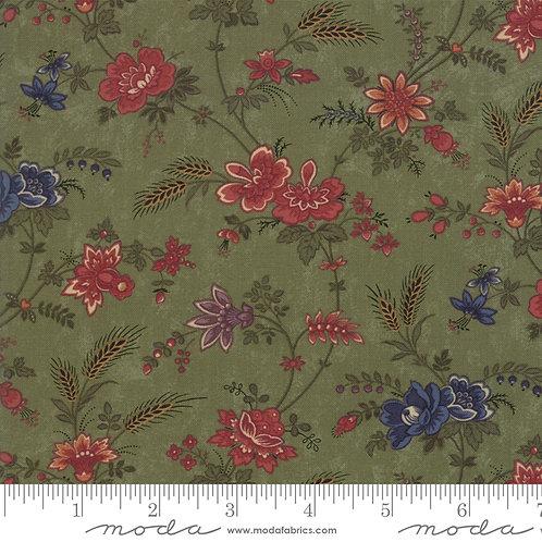Milestones 9610 15 Green Floral Moda Kansas Troubles