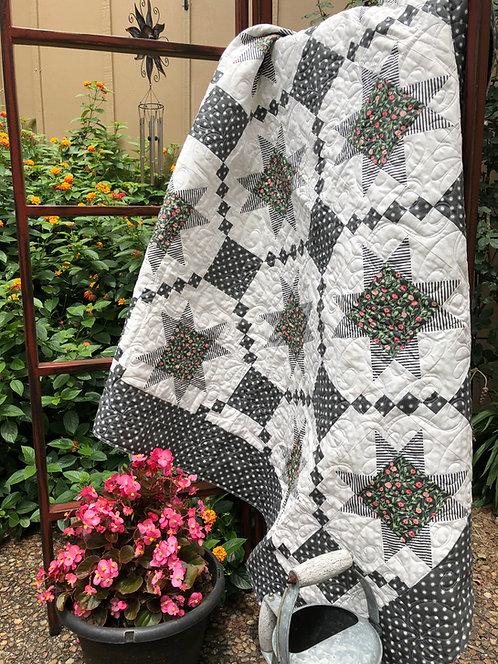 Bloom Where You Are BLOOMINGTON Quilt Pattern