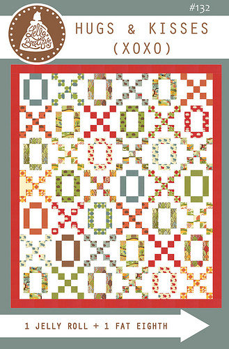 Lella Boutique HUGS & KISSES Jelly Roll Pattern