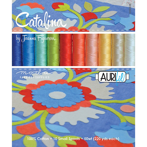 Aurifil Thread CATALINA 10 spools 50wt