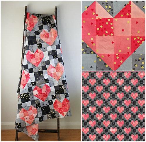 HEARTSTRIGS Quilt Kit Moda V & CO