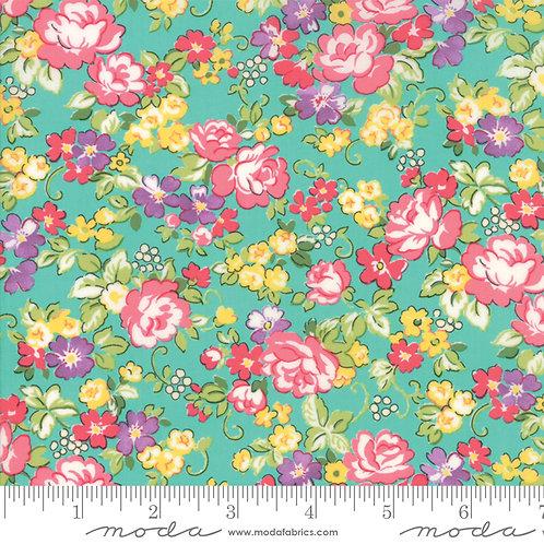 Regent Street Lawns 33322 14 Turquoise Floral