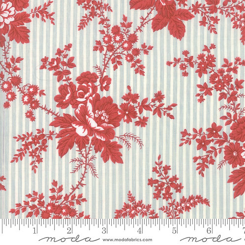 Northport 14880 11 Red Blue Floral