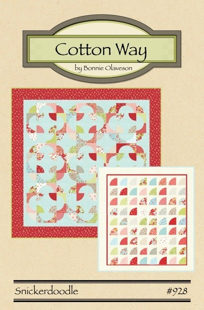 Cotton Way SNICKERDOODLE Pattern