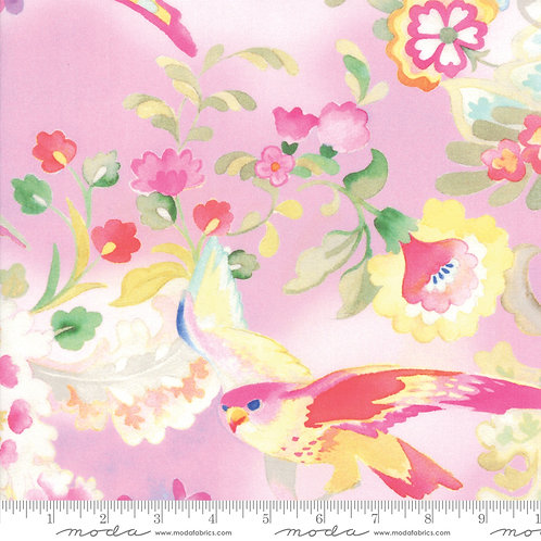 Flights of Fancy 33460 16 Pink Floral Moda Momo
