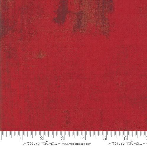 Kringle and Claus 30150 508 Red GRUNGE Moda Basic Grey