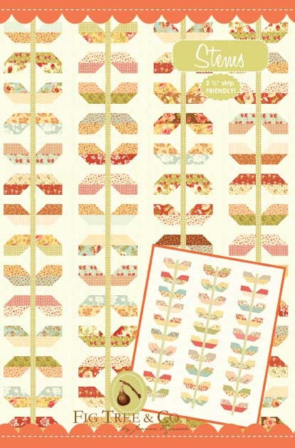 Fig Tree STEMS Jelly Roll Pattern